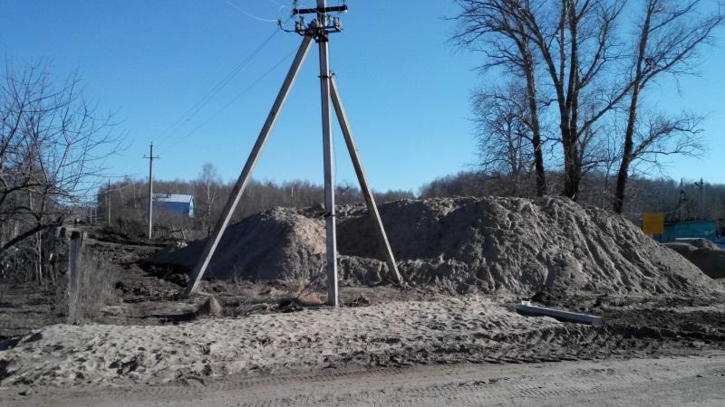 Начало дороги Кирпичник — Зименки