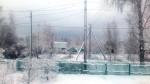 Апрельский снег в Кирпичнике