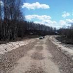 дорога без асфальта